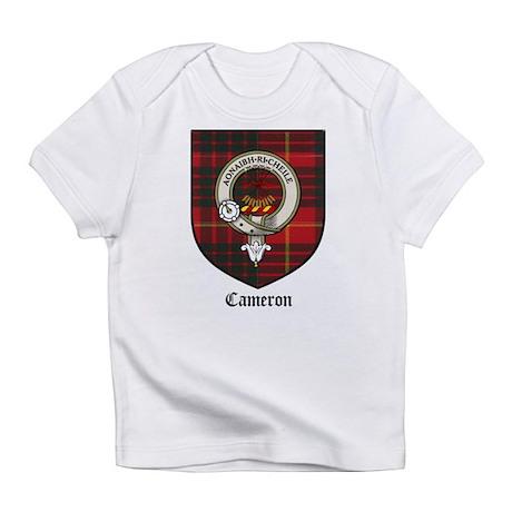 Cameron Clan Crest Tartan Creeper Infant T-Shirt