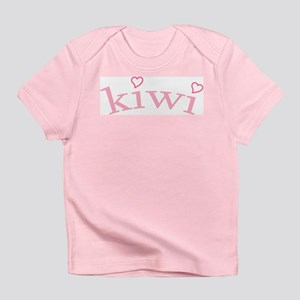 """Kiwi with Hearts"" Infant T-Shirt"