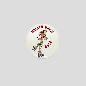Roller Girls Mini Button