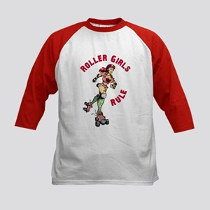 Roller Girls Kids Baseball Jersey