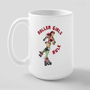 Roller Girls Large Mug