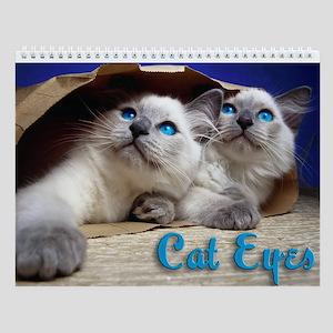 Cat Eyes Wall Calendar