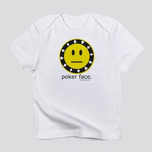 Poker Face Creeper Infant T-Shirt