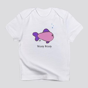 Pink Bloop Bloop Creeper Infant T-Shirt