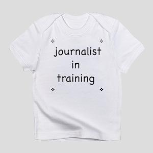Journalist-in-training creeper Infant T-Shirt