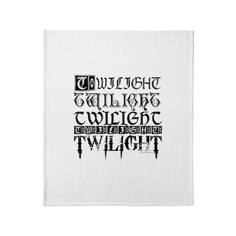 Twilight Sampler by twibaby.com Throw Blanket