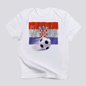 Soccer Flag Croatia Infant T-Shirt