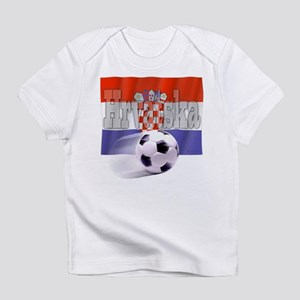 Soccer Flag Hrvatska Infant T-Shirt