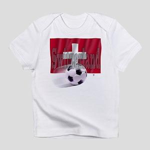 Soccer Flag Switzerland Infant T-Shirt
