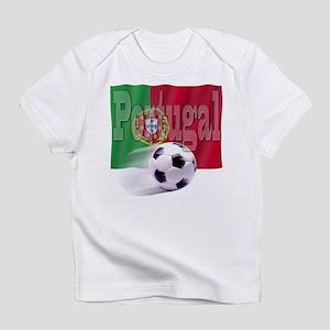 Soccer Flag Portugal Infant T-Shirt