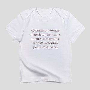 Latin Woodchuck Infant T-Shirt