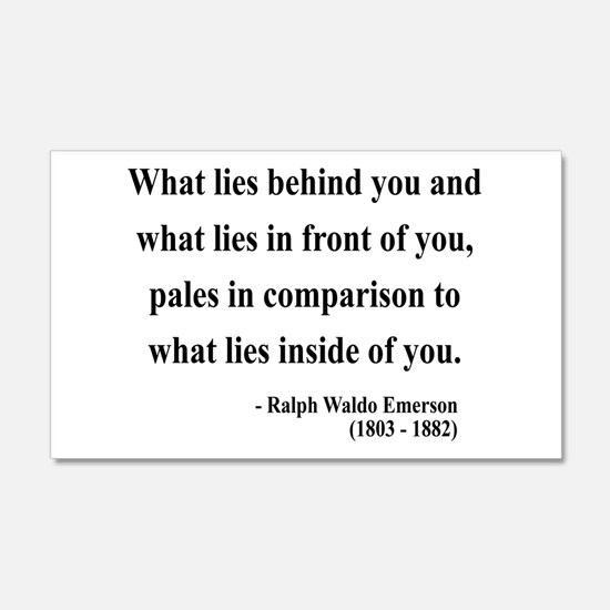 Ralph Waldo Emerson 11 20x12 Wall Peel