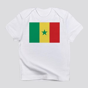 Flag of Senegal Creeper Infant T-Shirt