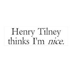 Henry Tilney 36x11 Wall Peel