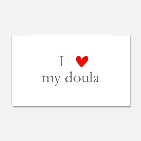 I love my doula 20x12 Wall Peel