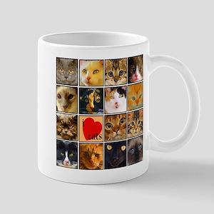 Cat Lady Loves kittens Mug
