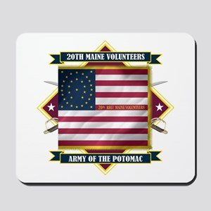 20th Maine V.I. Mousepad