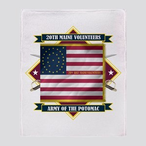 20th Maine V.I. Throw Blanket