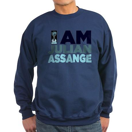 I Am Julian Assange Sweatshirt (dark)