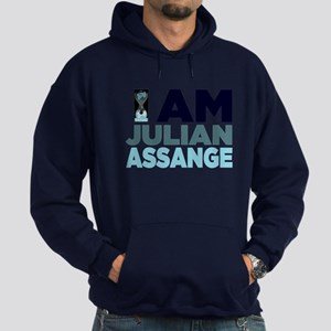 I Am Julian Assange Hoodie (dark)