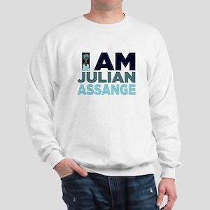 I Am Julian Assange Sweatshirt
