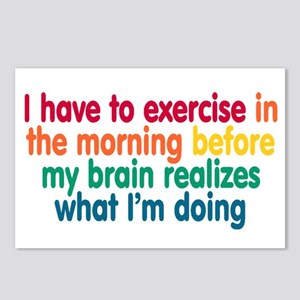 Early Morning Exercise Postcards (Package of 8)