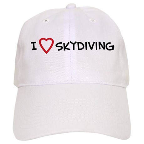 I Love Skydiving Cap