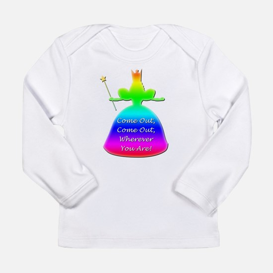 """GLBT """"Come Out"""" - Long Sleeve Infant T-Shirt"""