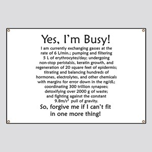 Yes, I'm Busy! Banner
