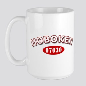 Hoboken NJ Zip Code Large Mug