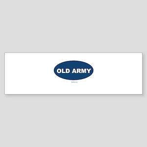 Old Army Dad Sticker (Bumper)