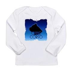 Blue Cane Corso Long Sleeve Infant T-Shirt