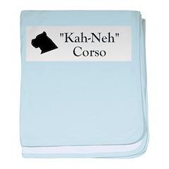 Kah Ney Corso baby blanket