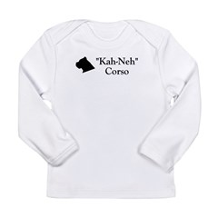 Kah Ney Corso Long Sleeve Infant T-Shirt