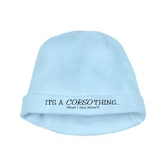 It's a Corso Thing baby hat