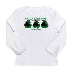 Recycled Cane Corso Long Sleeve Infant T-Shirt