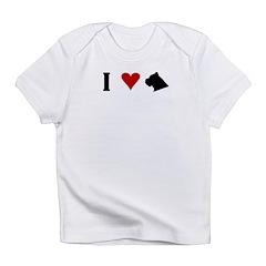 I Heart Cane Corso Infant T-Shirt