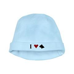 I Heart Cane Corso baby hat