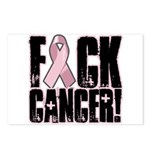 F#ck Cancer Postcards (Package of 8)