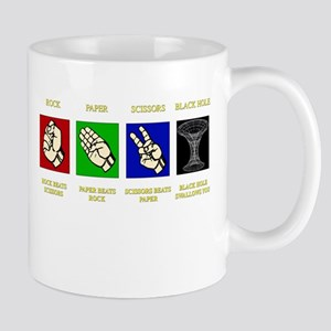 ROCK-PAPER-SCISSORS-BLACK HOLE Mug