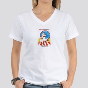 Tea Party Women's V-Neck T-Shirt