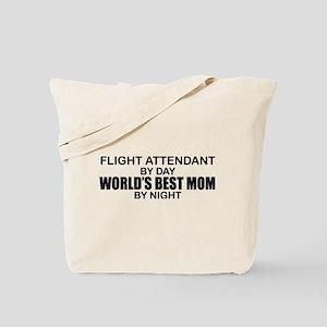 World's Best Mom - FLIGHT ATTENDANT Tote Bag