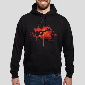 Ukulele Splash Hoodie (dark)