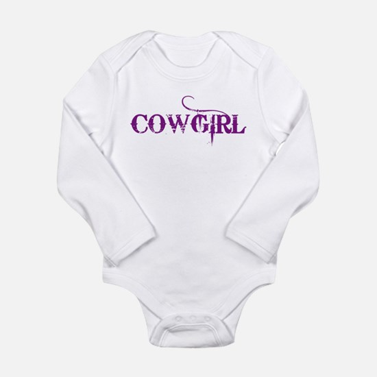 Cowgirl Long Sleeve Infant Bodysuit
