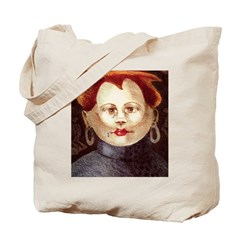 Child Within Tote Bag