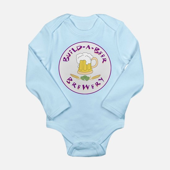 Build-a-Beer Long Sleeve Infant Bodysuit