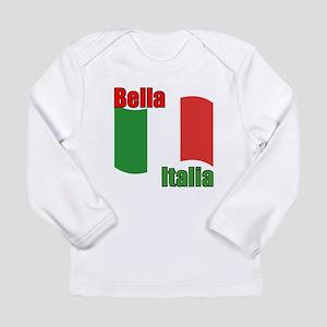 Italian Flag Long Sleeve Infant T-Shirt