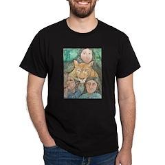Cougar Clan Black T-Shirt