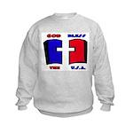 God Bless the USA Kids Sweatshirt