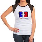 God Bless the USA Women's Cap Sleeve T-Shirt